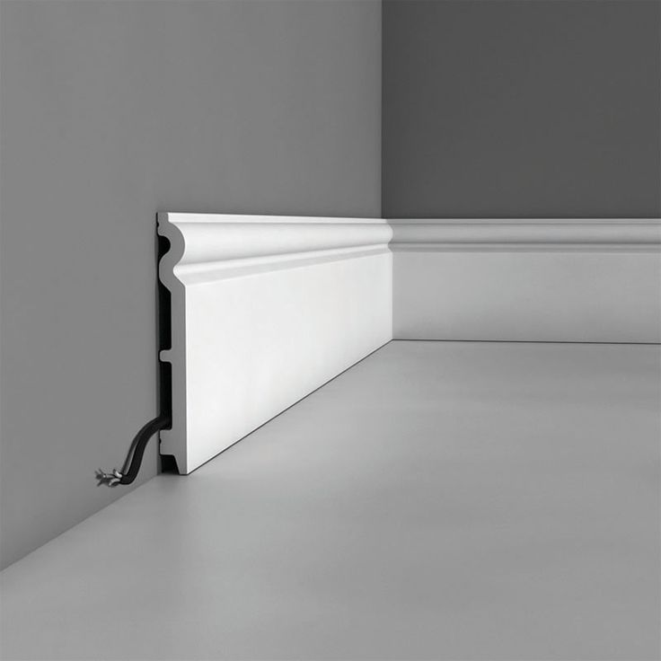 """SX138 Base Molding, Primed White. Length: 78-3/4"""" Height: 5-1/2"""" ____________________________ Request Your FREE Catalog: http://form.outwater.com/oracusa.php"""
