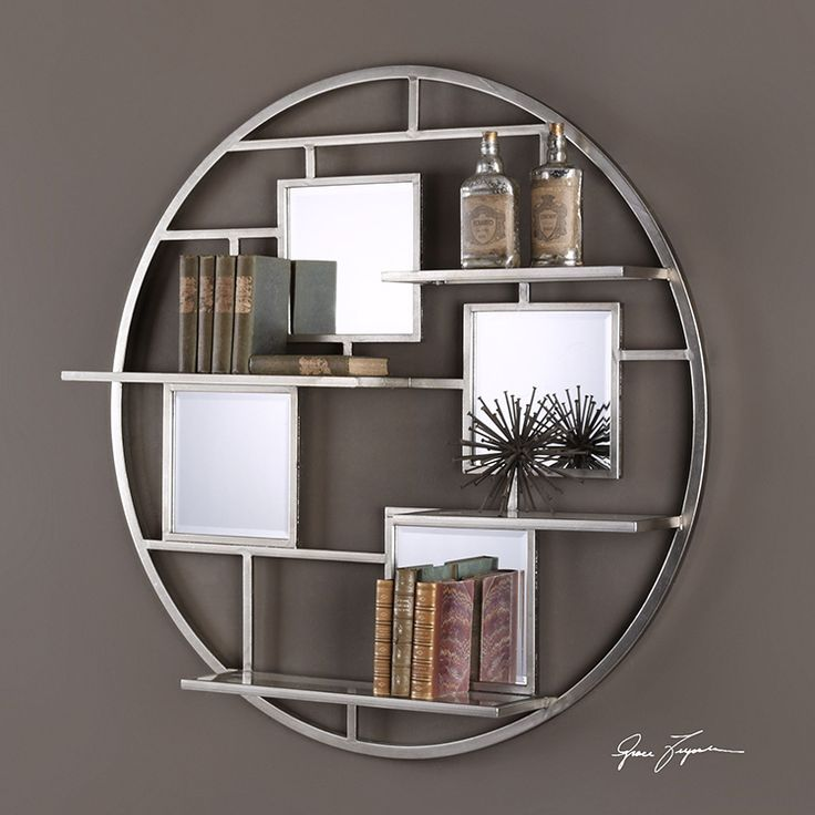 Buy Uttermost 04089 Shelf Zaria Round With 4 Shelves And