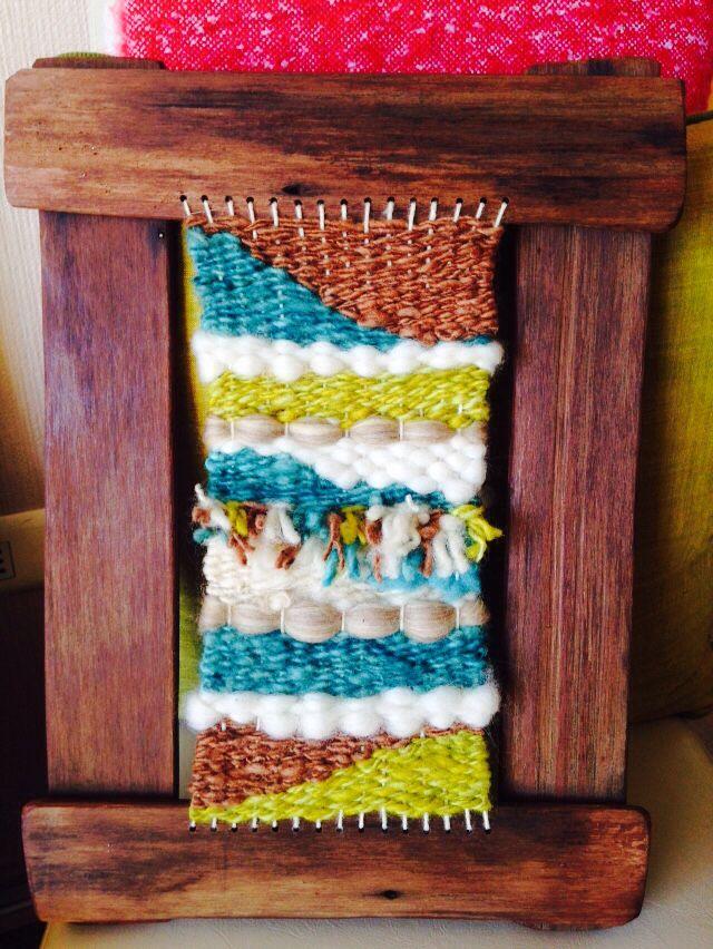 Telar decorativo #weaving