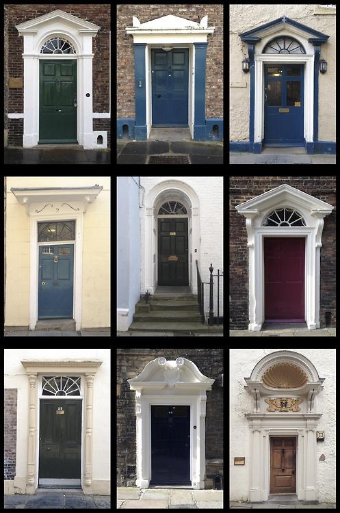 Great examples of Durham doors.  fotofacade:    Gorgeous Georgian Portals of Durham