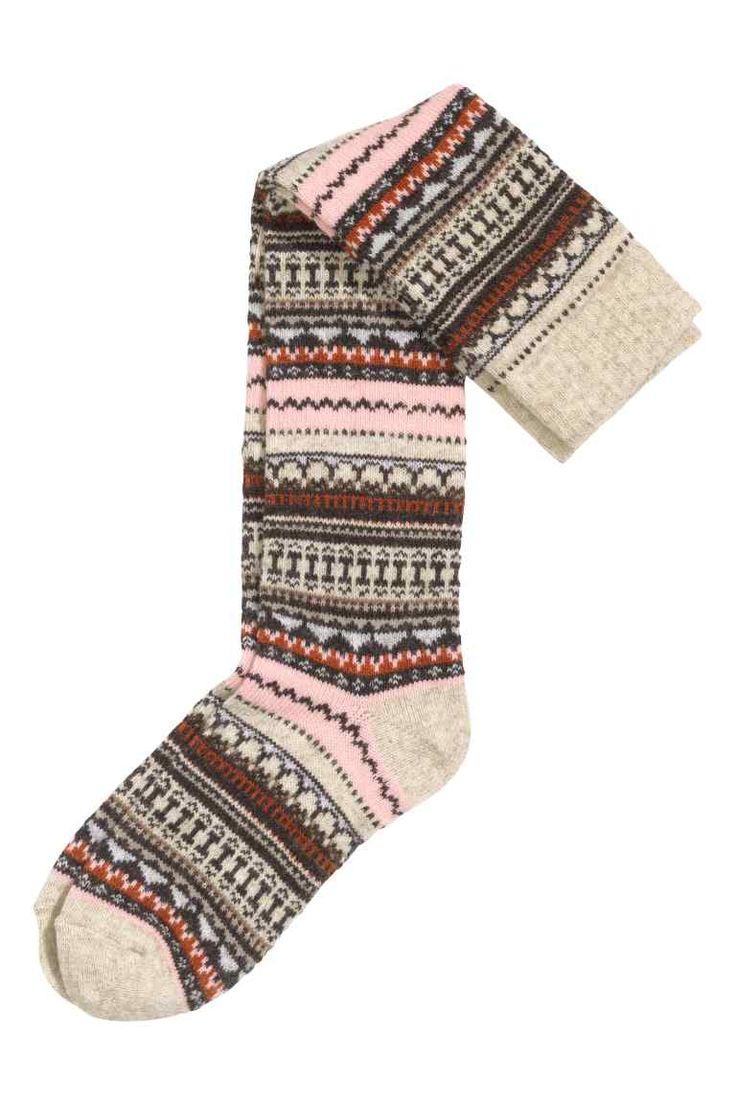Chaussettes de hauteur genou   H&M