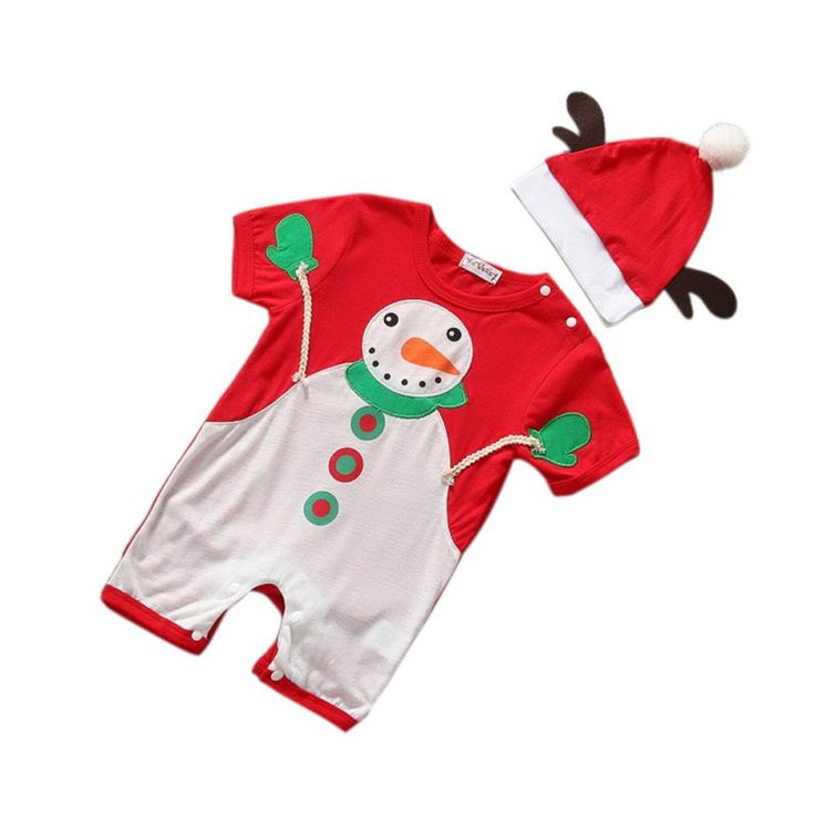 New New Children Christmas Clothing Baby Boys and Girls Christmas Dress Santa Claus Costumes Baby Girl's Dress