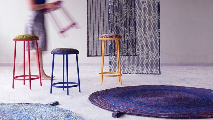 Post-Vlisco, a project by Simone Post recycling misprints of the Dutch texile producer Vlisco.