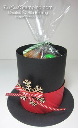 Rita's Frosty The Snowman's Hat Treat Holder