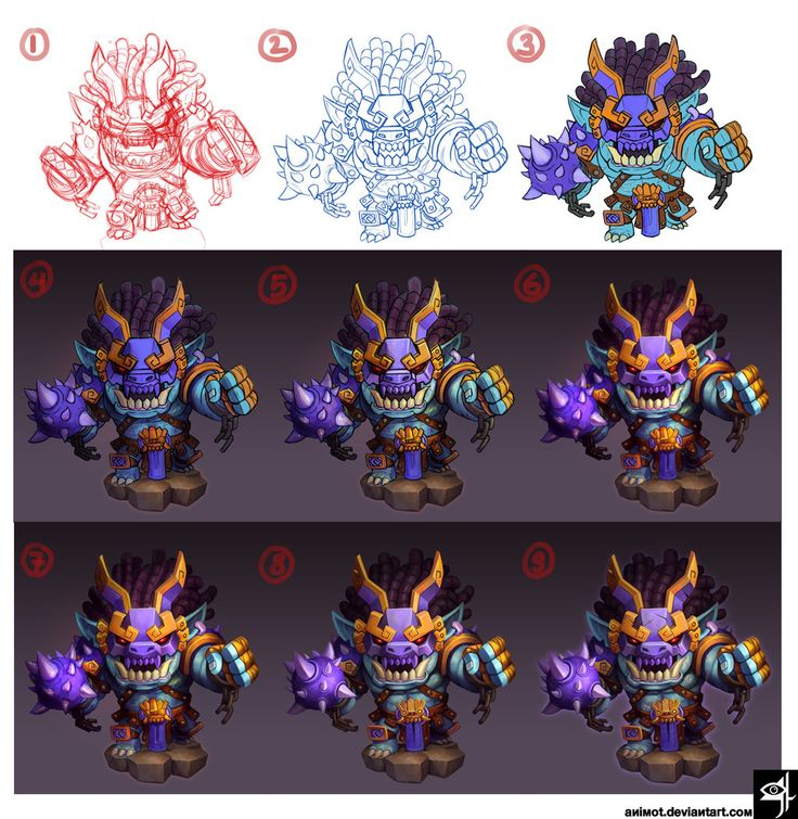 brawler step by step by animot on deviantART