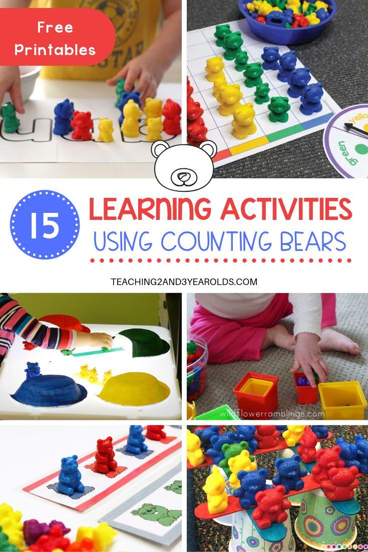 15 Counting Bears Activities for Preschoolers