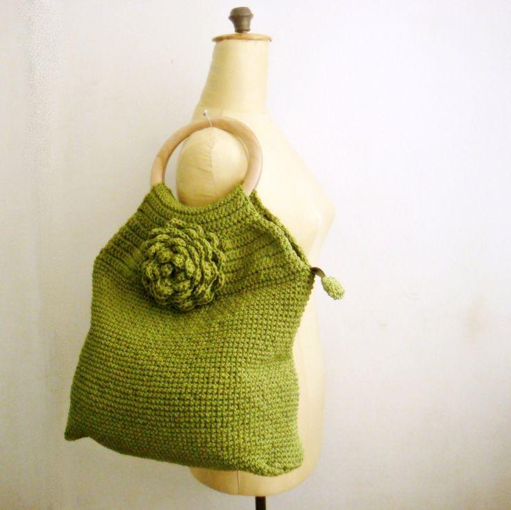 Crochet Tote Bag Pattern, Purse Crochet Pattern, 48