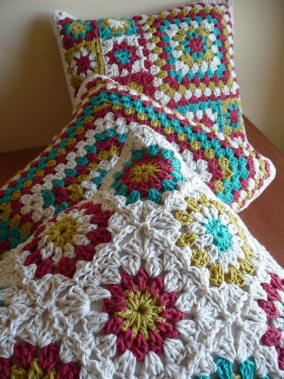 Almohadones al crochet Colores - Almohadones - Casa - 13075
