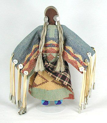Authentic Native American Lakota No Face doll by Diane Tells His Name