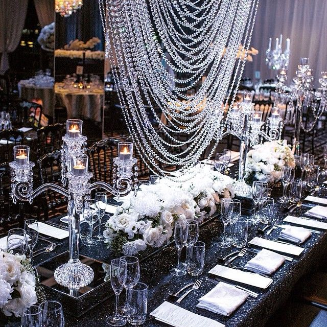 ✨ Doltone House created a Crystal Heaven when Celebrating 20 years of helping wedding dreams come true with the Super Styling of their Darling Island Wharf Luxury Venue in Sydney... ✨ ... #SydneyWedding #DreamWedding ... (@doltonehouse) ~ #CrystalMAGIC (@chandelierstodiefor) ~ Photography (@macdougallphotography) ... ✨✨ ...