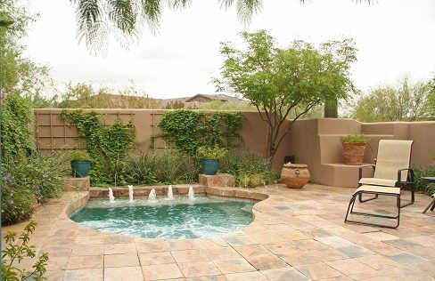 Pin by Corinne Mouhot on Small pools for small yards ...