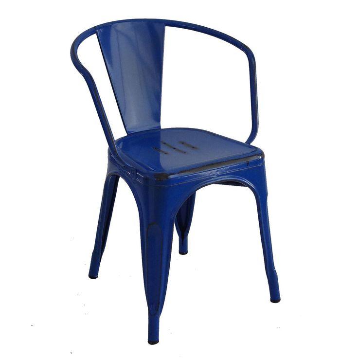 Sedia MOSKOV -Vintage COLORS- (Sedie in metallo) - Tolix A56 Sedie di design, tavoli di design, mobili di design, Modern Classic, Contemporary Designs ...