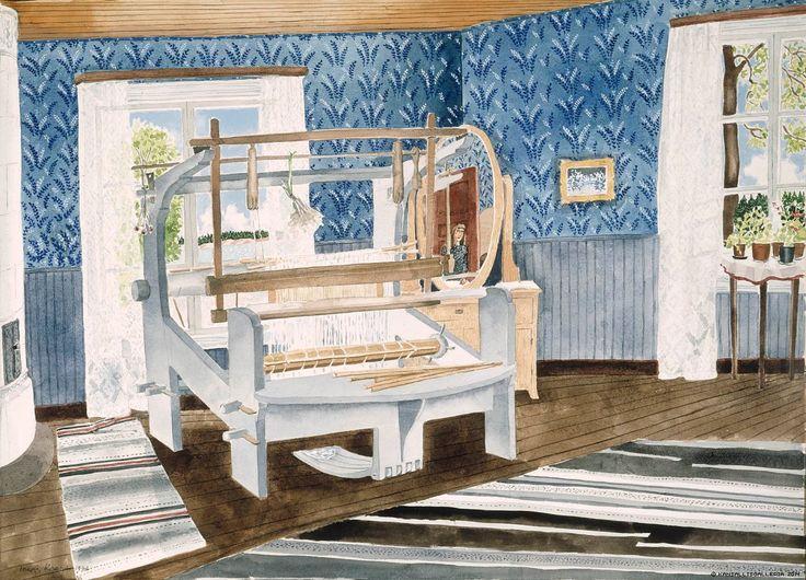 Krohn, Inari Alastalon kamarissa 1976