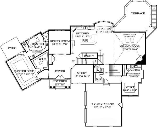 19 best house plans images on pinterest future house for Craftsman house plans utah