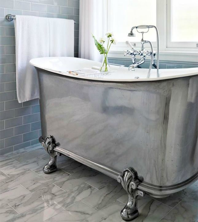 70 best images about clawfoot stand alone tubs on for Claw foot soaker tub