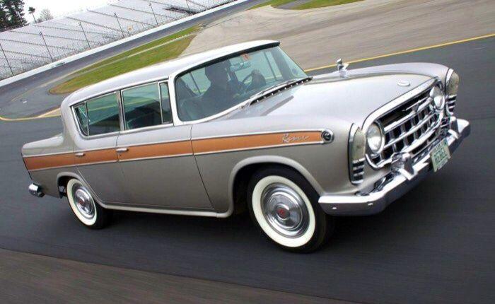 1957 American Motors Rambler Rebel....still fine looking even today....