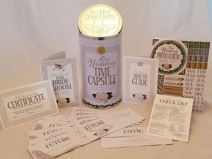 167 Best Wedding Time Capsule Ideas Images On Pinterest