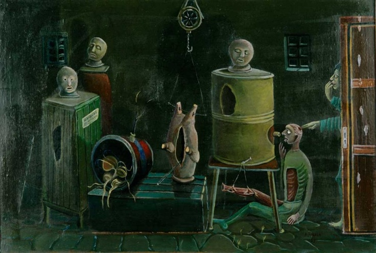Alpo Jaakola (1929-1997):  A Surprise in the Cellar, 1958