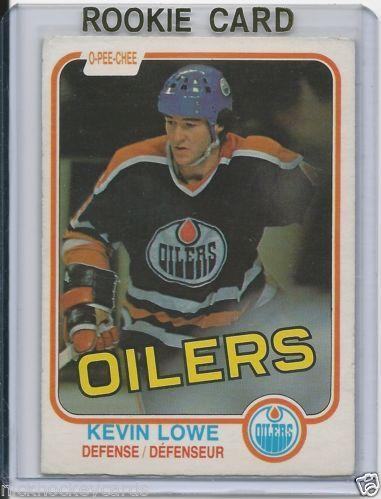Kevin Lowe RC 1981-82 OPC Edmonton Oilers # 117 NM