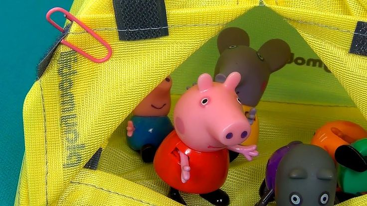 Peppa Pig en español. Peppa Pig y sus amigos tienen picnic. Peppa y Geor...