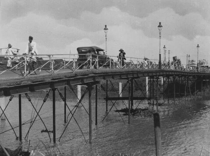 Jembatan Wonokromo (?) 1929