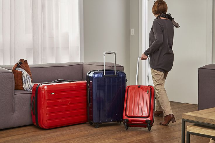 Featuring different sizes for every occasion - check out the Lojel Luggage range #flybuysnz