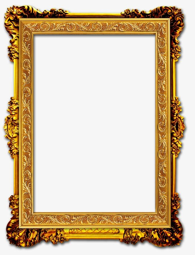 Gold Frame, Frame Clipart, Frame PNG Transparent Image and