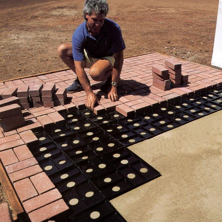 Patio Pal brick laying guides make it easy to build a designer patio or walkway. Get a professional look without the pro!