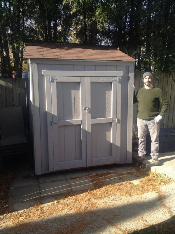 how to build a lean to off my shed