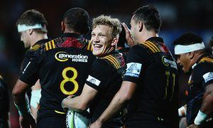 Nine-try Chiefs crush Super Rugby's Western Force in Hamilton