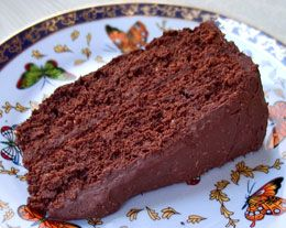 Vegan Tofu Chocolate Cake: Made with silken tofu, chocolate chips, cocoa powder and no added fat, this cake is densely intensely chocolaty. Frankly I think it could benefit from 1/4 cup added coconut oil, but it's up to you.