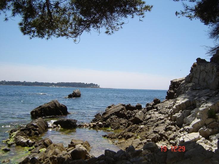 Taken from Île Sainte-Marguerite (St. Margaret's Island), Cote D'Azur, France.