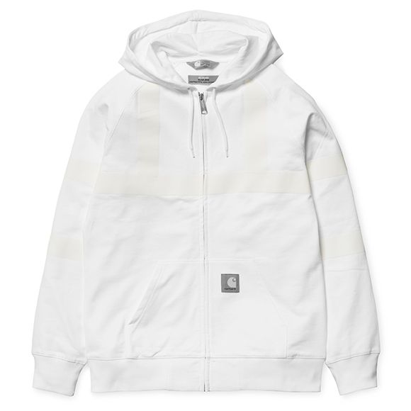 Slam Jam x Carhartt WIP Reflective Hooded Chase Jacket - White