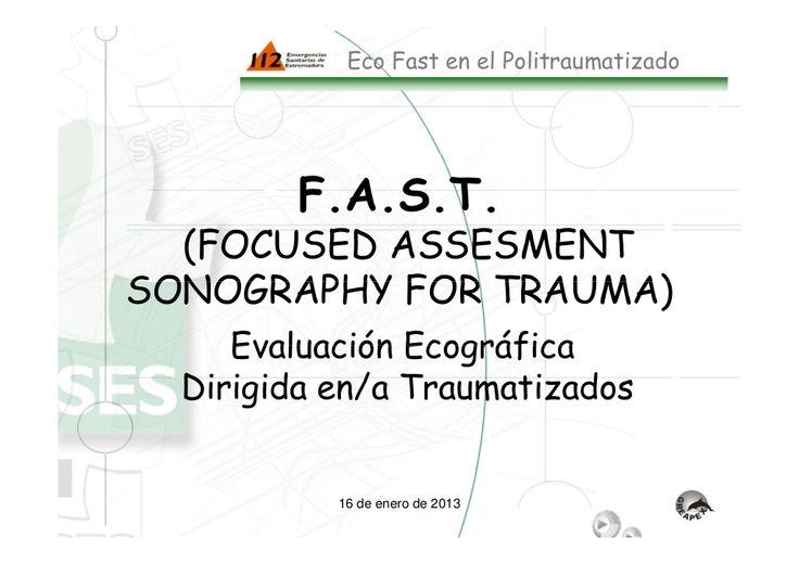 Ecografia en politrauma by Paco  R via slideshare