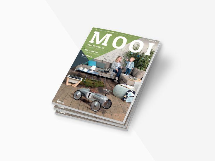 MOOI magazine editie 3 uitgave van fonQ.nl