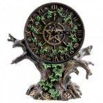 Horloge représentant un arbre astrologique