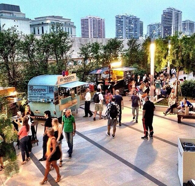 Food Truck Festival marca presença no Vogue's Fashion Night Out