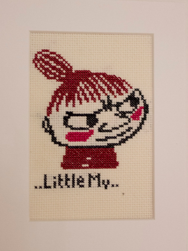 Moomins - Little My Cross Stitch. £12,45, via Etsy.