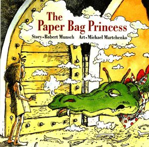 The Paper Bag Princess, great book to start talking to your daughter about how others should treat her.