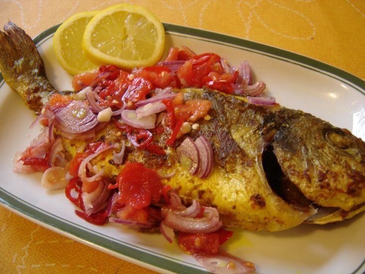 Tasty Indonesian Food - Ikan Bakar Sambal Dabu-dabu
