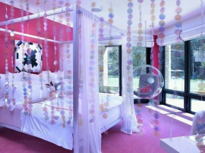 Awesome girly bedroom bedroom design pinterest for Girly bedroom designs