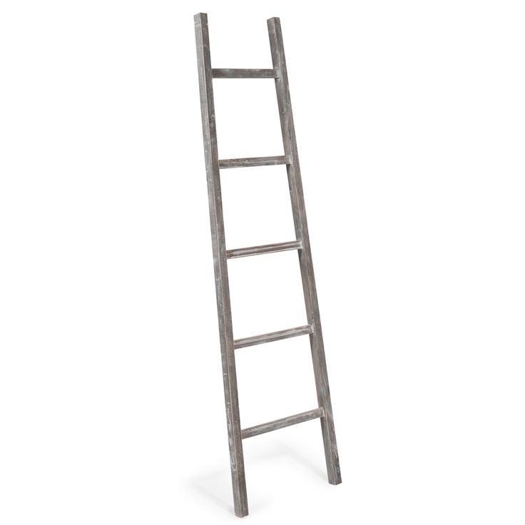 Deko-Leiter aus Holz H 160 cm LAVANDOU