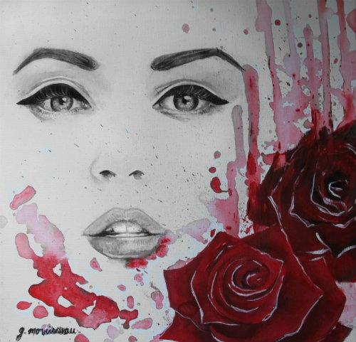 Beauty like Beauty/Peinture -g.morrisseau