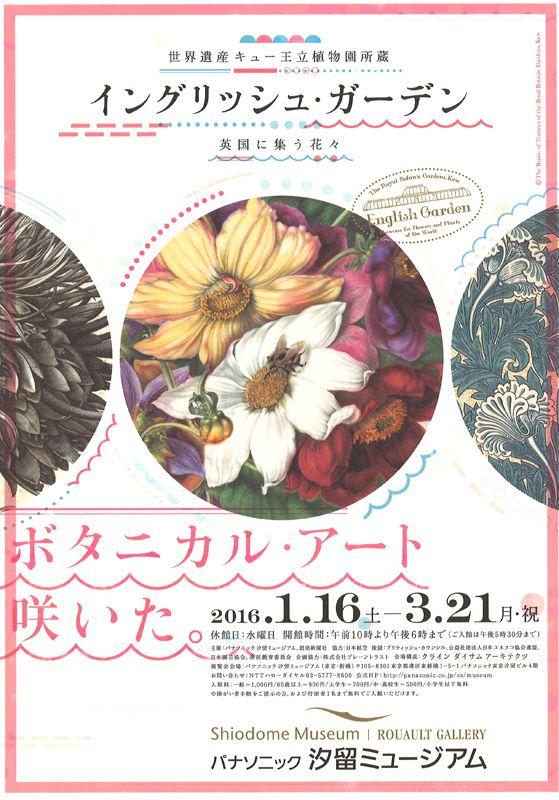キュー王立植物園所蔵 イングリッシュ・ガーデン 英国に集う花々