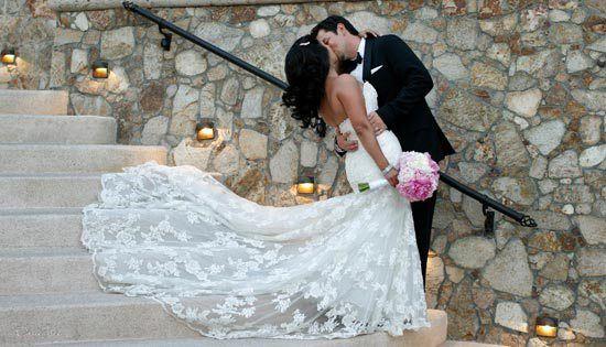 A romantic moment at Esperanza!