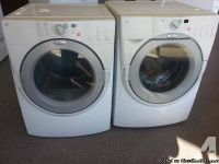 SUPER NICE WHIRLPOOL DUET FRONTLOADER WASHER AND DRYER for sale in ...
