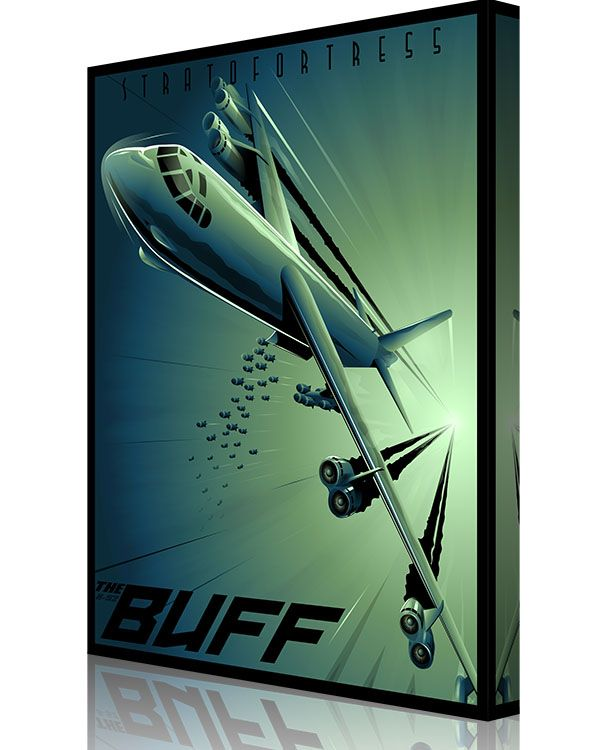 Share Squadron Posters for a 10% off coupon! B-52 Shock Wave #http://www.pinterest.com/squadronposters/