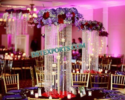 Crystal Wedding Centerpieces | Indian Wedding Crystal Centerpieces