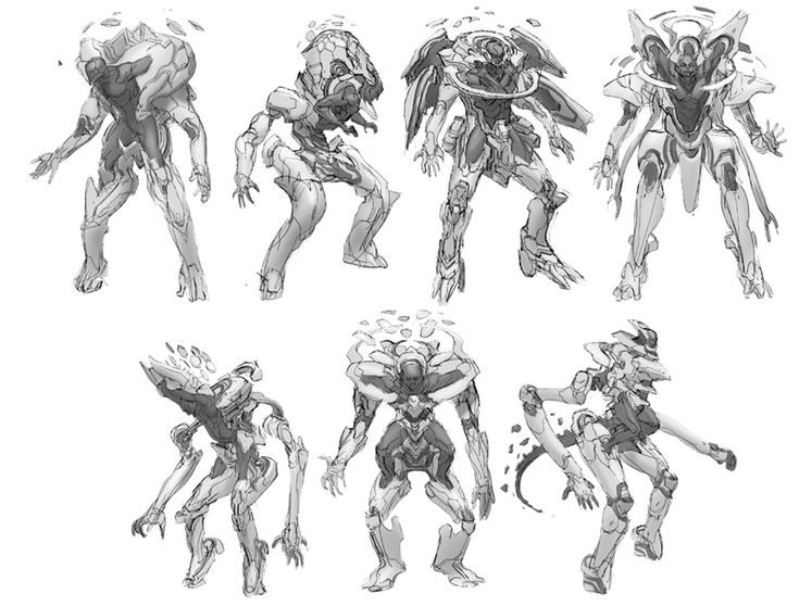 from Halo 4 ★ || CHARACTER DESIGN REFERENCES (www.facebook.com/CharacterDesignReferences & pinterest.com/characterdesigh) • Love Character Design? Join the Character Design Challenge (link→ www.facebook.com/groups/CharacterDesignChallenge) Share your unique vision of a theme every month, promote your art and make new friends in a community of over 20.000 artists! || ★