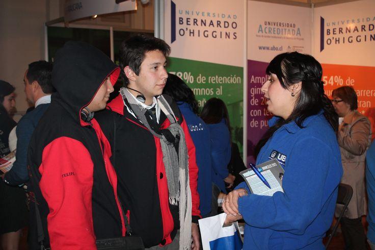 """Universidad Bernardo O'Higgins participa feria educacional """"SP21"""""""